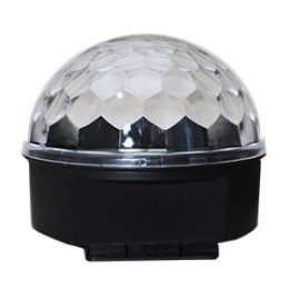 Meia Bola Maluca Iluminação Led Colorido Sem DMX Spectrum SP14/3 Cod.000102