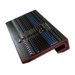 Mesa Som Profissional 24 Canais Interface Bluetooth USB Design Moderno Soundvoice MP246