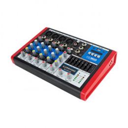 Mesa Som 6 Canais Compacta USB Digital Sound Voice MC6 EUX