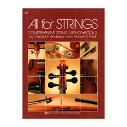 Método Violino All For Strings Vol. 3 KJOS MUSIC 80VN