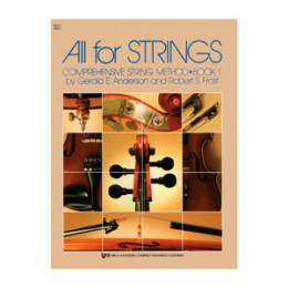 Método Violoncelo All For Strings Vol. 1 KJOS MUSIC 78CO