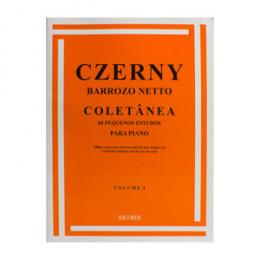 Método Piano Czerny Barrozo Netto Coletânea 60 Pequenos Estudos Volume 1
