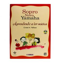 Método Sopro Novo Yamaha Aprendendo a Ler Música com CD