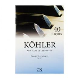 Método Kohler 40 Lições Op 189 Órgão Eletrônico Ana Mary de Cervantes CN008
