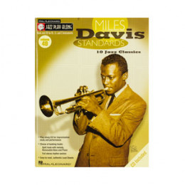 Método Trompete Miles Davis Jazz Play Along com CD