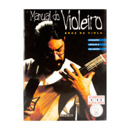 Método Manual do Violeiro Braz Viola com CD