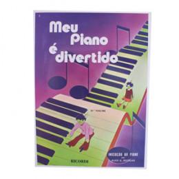 Método Meu Piano é Divertido Volume 2 Alice G. Botelho