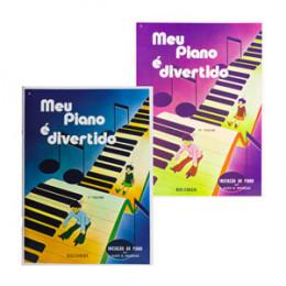 Kit Métodos Meu Piano é Divertido Vol. 1 e Vol.2