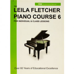 Método Leila Fletcher Piano Course 6 For Individual & Class Lesson