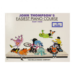 Método John Thompson's Easiest Piano Course Parte 4 com CD