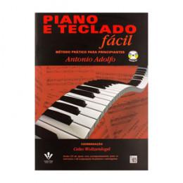 Método Piano e Teclado Fácil com CD Antonio Adolfo
