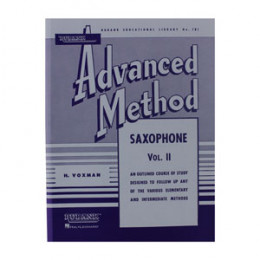 Método Saxofone Advanced Rubank Saxophone Vol 2