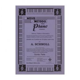 Novo Método Piano A. Schmoll Ampliado 5º Parte Ampliado