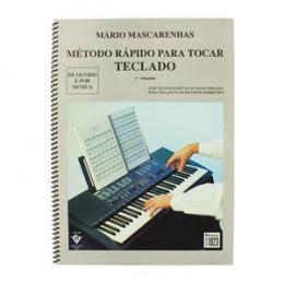 Método Rápido Para Tocar Teclado Volume 1 Mário Mascarenhas