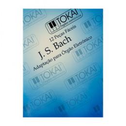 Metodo Orgão Tokai J.S. Bach 12 peças Amador Rubio