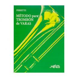 Método Trombone Vara Serse Peretti Editora Melos