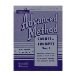 Método Trompete Advanced Rubank Trumpet Cornet Vol 1