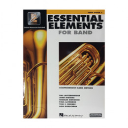 Método Tuba Livro Essential Elements for Band Interactive Tuba Book 1 ( Livro 1 )