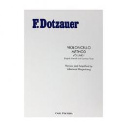 Método Violoncello Volume 1 F. Dotzauer (Inglês)