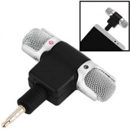 Microfone Estéreo Celular Plug Adaptador Sound Voice Lite Soundcasting 100