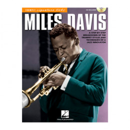 Método Livro Trompete Sib Miles Davis Play Along c/ CD Signature Licks