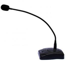 Microfone Mesa c/ Cabo 4mts Mod. Profissional Haste Flexível Sound Voice MM100