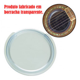 Abafador Redutor de Microfonia Anti Feedback Violão Folk Transparente PHX Cod AB3