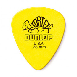 Palheta 0.73mm Amarela Tortex Dunlop 418R.73 Cod. 1343