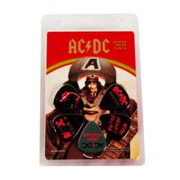 Palheta Violão Guitarra AC DC Pacote 6 unidades 0.73mm (Signature ACDC2)