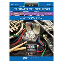 Método Clarone Baixo Sib Livro Standard of Excellence Band Method by Bruce Pearson c/ 2 Cd´s Livro 2 ( Book 2 )