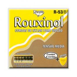 Encordoamento Violão Naylon Preto Rouxinol R53B