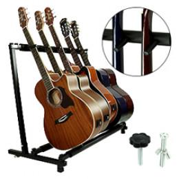 Rack Suporte Chão 5 Violão Guitarra Baixo Smart GS05