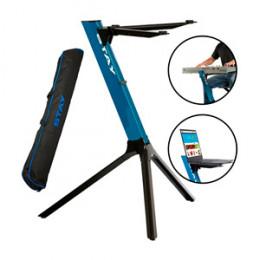 Suporte Teclado Altura 70 cm com Capa Compact Stay 165 Azul
