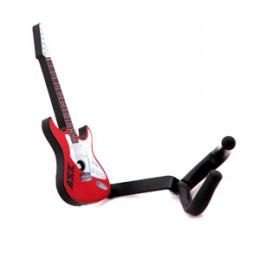 Suporte Parede Violão Guitarra Baixo ASK AGV Vermelho