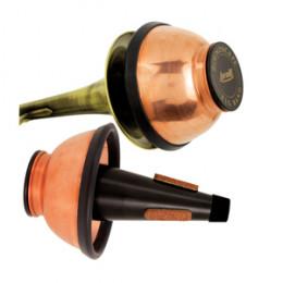 Surdina Trompete Cup Mute Ajustável Sound Scape Copo Cobre Torelli TA139