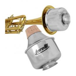 Surdina Trompete Straight Mute Alumínio Torelli TA115