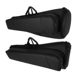 Capa Trombone Médio PVC Emborrachado Pelúcia Alta Qualidade Protection Bags