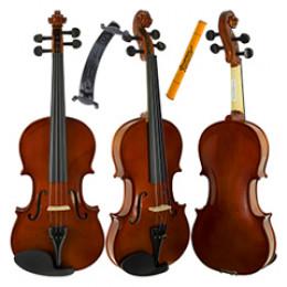 Violino Standard 4/4 Giannini SV Start c/ Arco Breu Estojo Espaleira ( Completo )