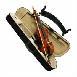 Violino 1/2 Standard Completo Espaleira Estojo Breu Dominante 9648