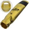 Boquilha Metal Dourada Sax Tenor Vandoren V16 T8 Small SM824GS + Brinde