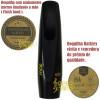 Boquilha Sax Tenor Barkley Pnoir 5 Completa Som Erudito + Bag + Protetor Dente