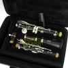 Clarinete Sib 17 Chaves Niqueladas Yamaha YCL 255 c/ Estojo e Acessórios Original ( Estado de Novo )