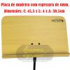 Suporte Estante Partitura Maestro Madeira Hunter HEP30