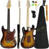 Guitarra Stratocaster Giannini Standard Séries Sunburst Brilho Escudo Tortoise c/ Capa + Acessórios ( 3TS /TT )