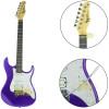 Guitarra Stratocaster Roxo Metálico ( Metallic Purple ) Série Woodstock TG 520 Tagima Brinde Capa + Acessórios