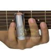 Slide Metal Cromado para Guitarra