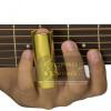 Slide Metal Ouro Longo 6cm Violão Guitarra Baixo Torelli