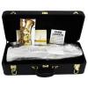 Trompete Sib Prata Dourado Hoyden HTR50 A4P C/ Estojo Acessorios (  Semi Profissional )