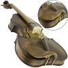 Viola de Arco Tamanho 42cm Rolim IIzuka Envelhecida Fosca c/ Estojo + Acessórios