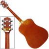 Violão Folk Eletroacústico Tobacco Sunburst Fosco Giannini GD 1 EQ c/ Capa + Acessórios